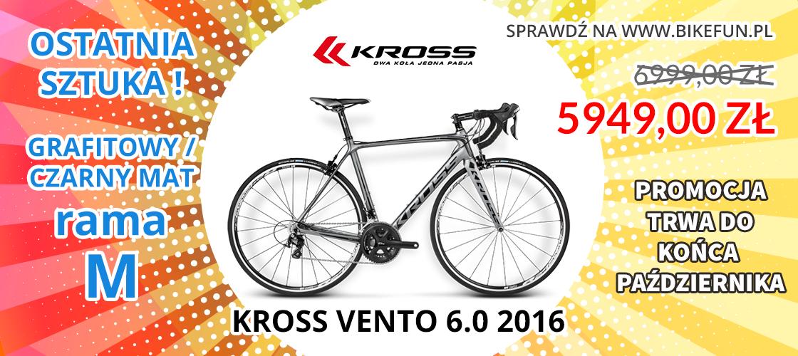 Bikefun rabat Kross Level Vento 6.0